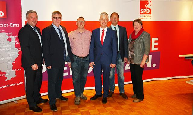 SPD wählt Matthias Groote einstimmig als Landratskandiat Matthias Groote