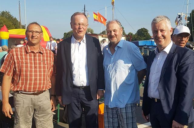 Sommerfest mit Stephan Weil