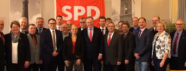 Neujahrsempfang der Borkumer SPD