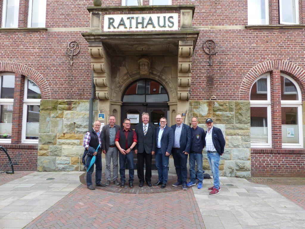 Der Europaabgeordnete Tiemo Wölken (SPD) zu Besuch auf Borkum