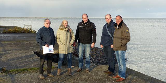 SPD-Fraktion besichtigt Kleinbahnhafen