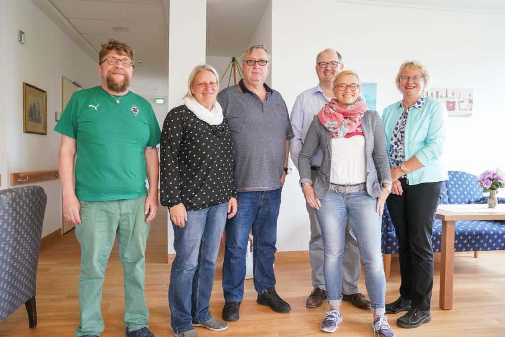 Borkumer SPD zu Besuch bei der Tagespflege koom binnen