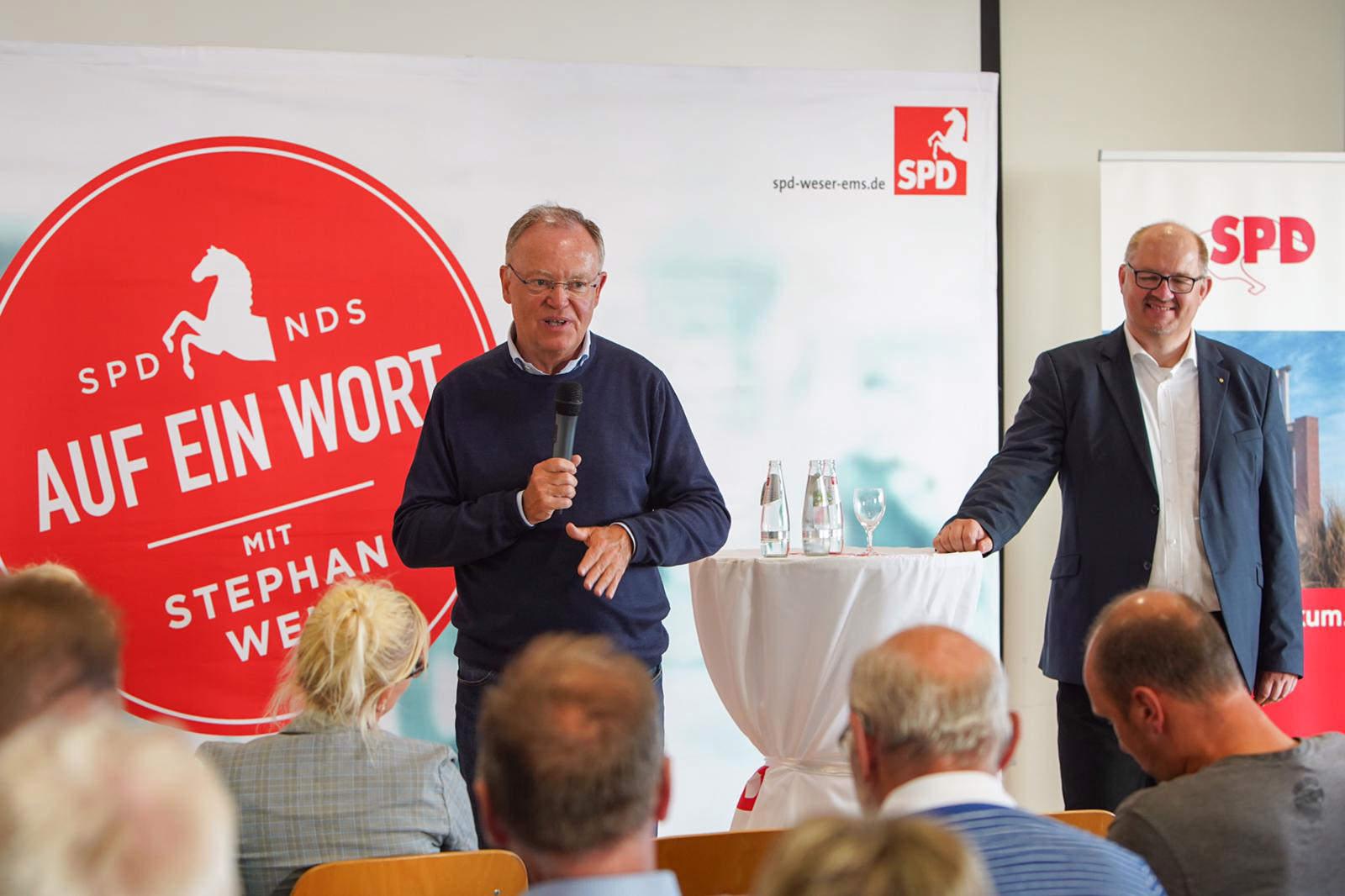 Auf ein Wort mit Stephan Weil