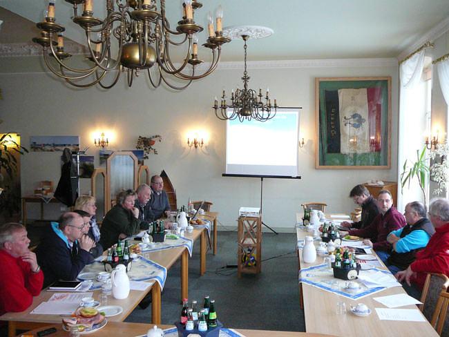 Vorstand und Fraktion der Borkumer SPD in Klausur