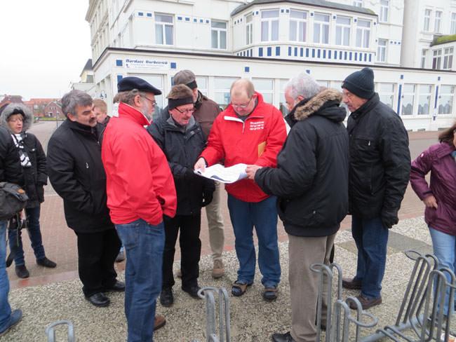 Klausurtagung der SPD-Stadtratsfraktion aus Meinerzhagen auf Borkum