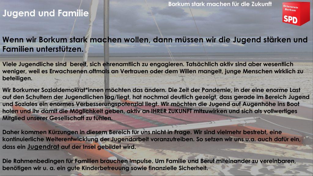 SPD Borkum - Jugend